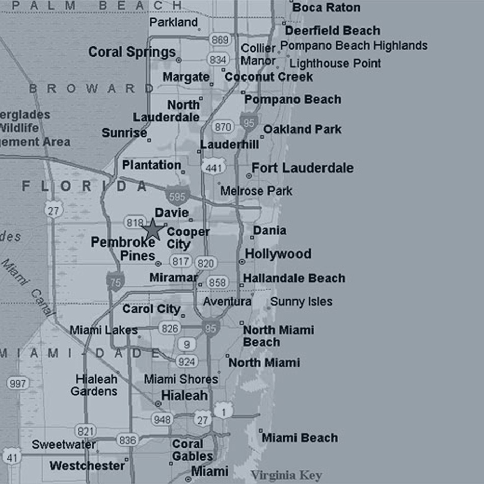 About Us EFAP - Florida map hallandale